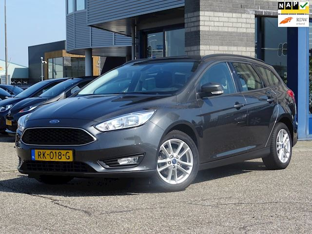 Ford Focus Wagon 1.0 Lease Edition FULL-MAP NAVI ECC LMV PDC MULTI-STUUR CRUISE-CONTROLE