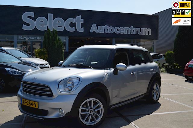 Mini Mini Countryman 1.6 Cooper ALL4 Chili Automaat | Panoramadak | Half leer | Stoelverwarming | Ecc