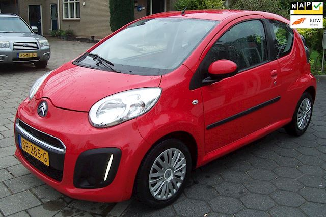 Citroen C1 1.0 Collection Airco Hoge zit Lage km stand.LED.Nette auto Apk Zuinig