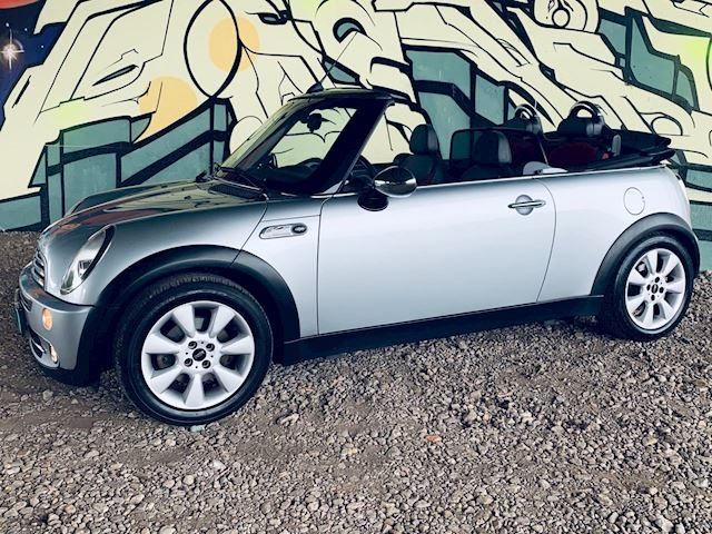 Mini Mini Cabrio 1.6 One Pepper , youngtimer, topstaat!