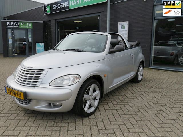 Chrysler PT Cruiser Cabrio 2.4 Turbo Limited /AIRCO/NAP/NETTE STAAT!!