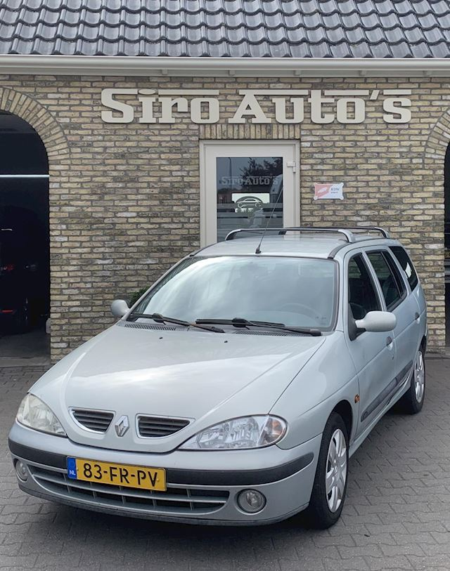 Renault Mégane Break 1.6-16V Authentique Bj 2000 Airco APK 06-08-2020 voor 399 euro