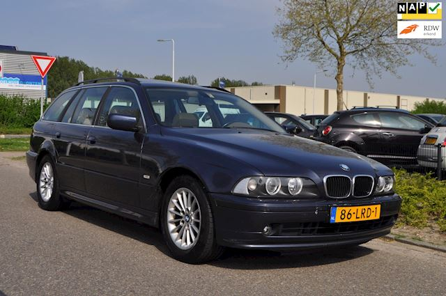 BMW 5-serie Touring 525d Lifestyle Executive AUTOMAAT/CLIMA AIRCO/TREKHAAK/nwe APK/NAP/ZEER COMPLEET