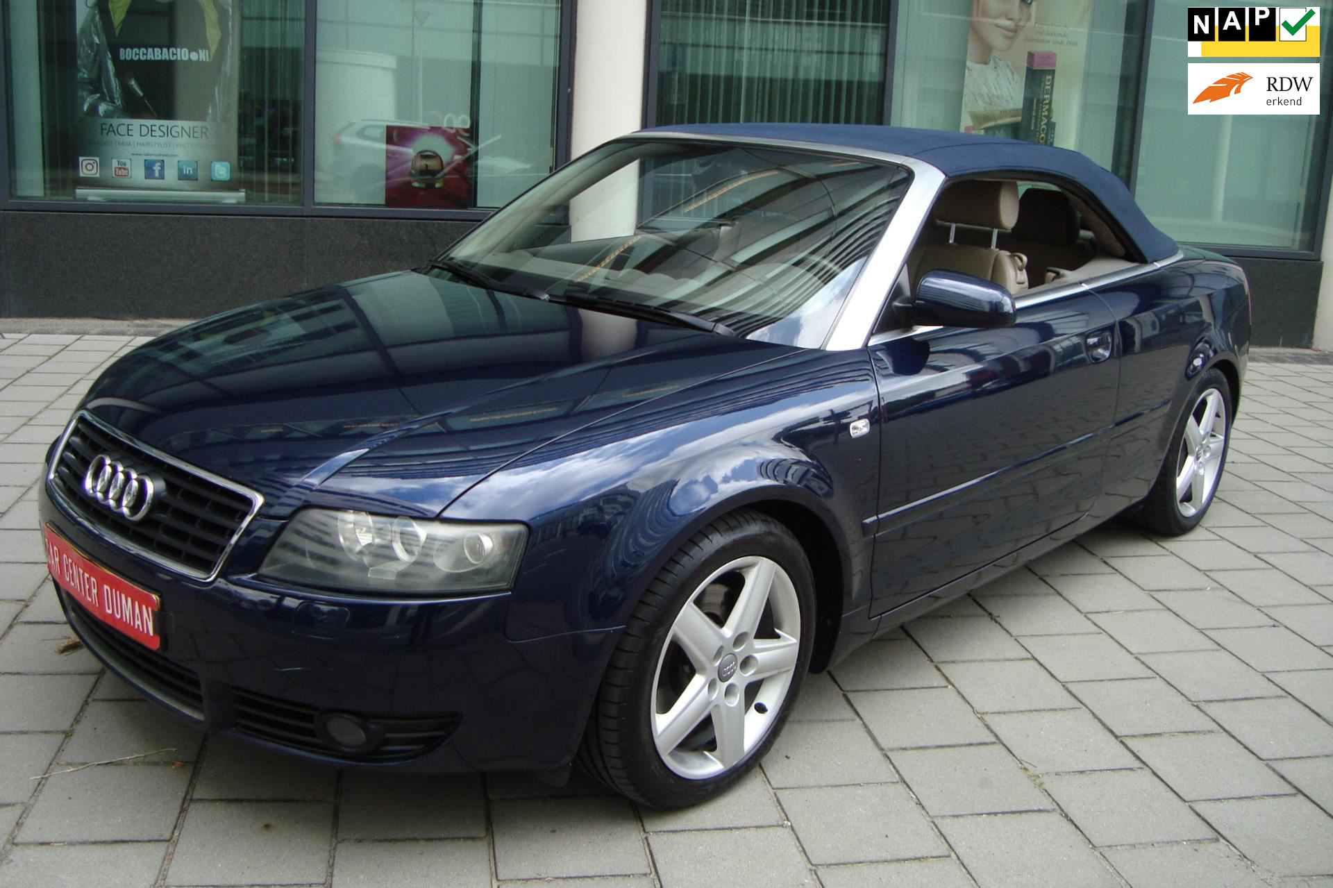 Audi A4 Cabriolet occasion - Car Center S. Duman