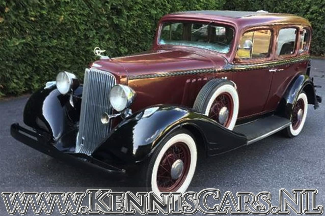 Pontiac 1934 Straight Eight 8-603 Seven window sedan occasion - KennisCars.nl