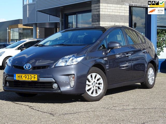 Toyota Prius 1.8 Plug-in Aspiration FULL-MAP NAVI+CAMERA ECC LMV 1/2LEER+VERWARMD CRUISE-CONTROLE