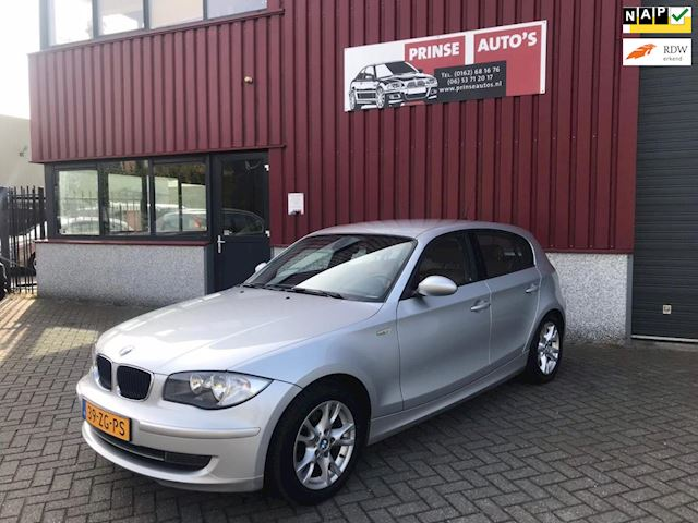 BMW 1-serie 118i Business Line met leder