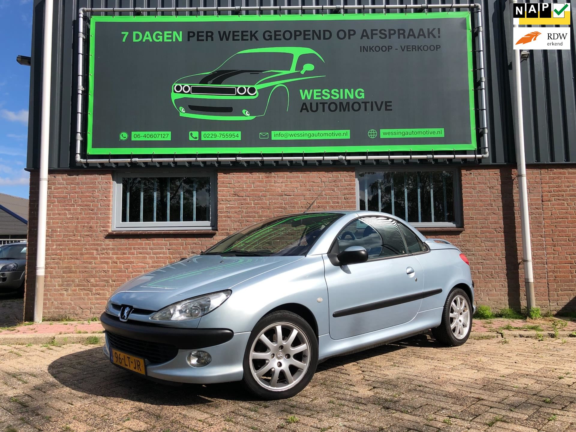 Peugeot 206 CC occasion - Wessing Automotive
