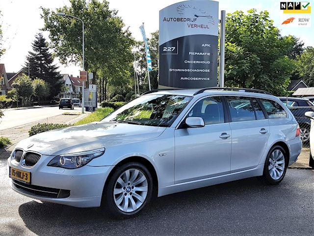 BMW 5-serie Touring 520i Corporate Lease Executive Automaat Navi NL-auto Boekjes Nap