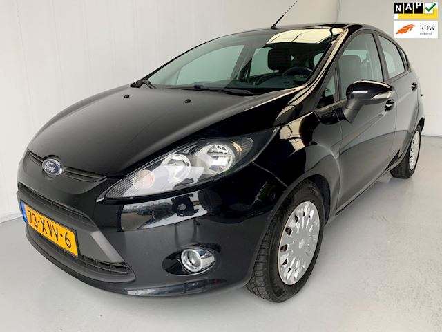 Ford Fiesta 1.6 TDCi ECOnetic Lease Trend Airco Leer Cruise control