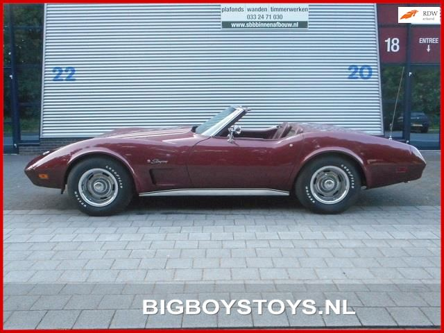Chevrolet USA Corvette L82 Stingray Convertible 4-bak