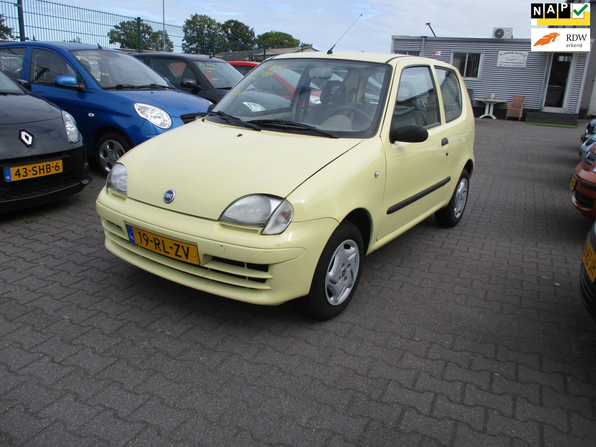 Fiat Seicento occasion - Harry Jakab Auto's