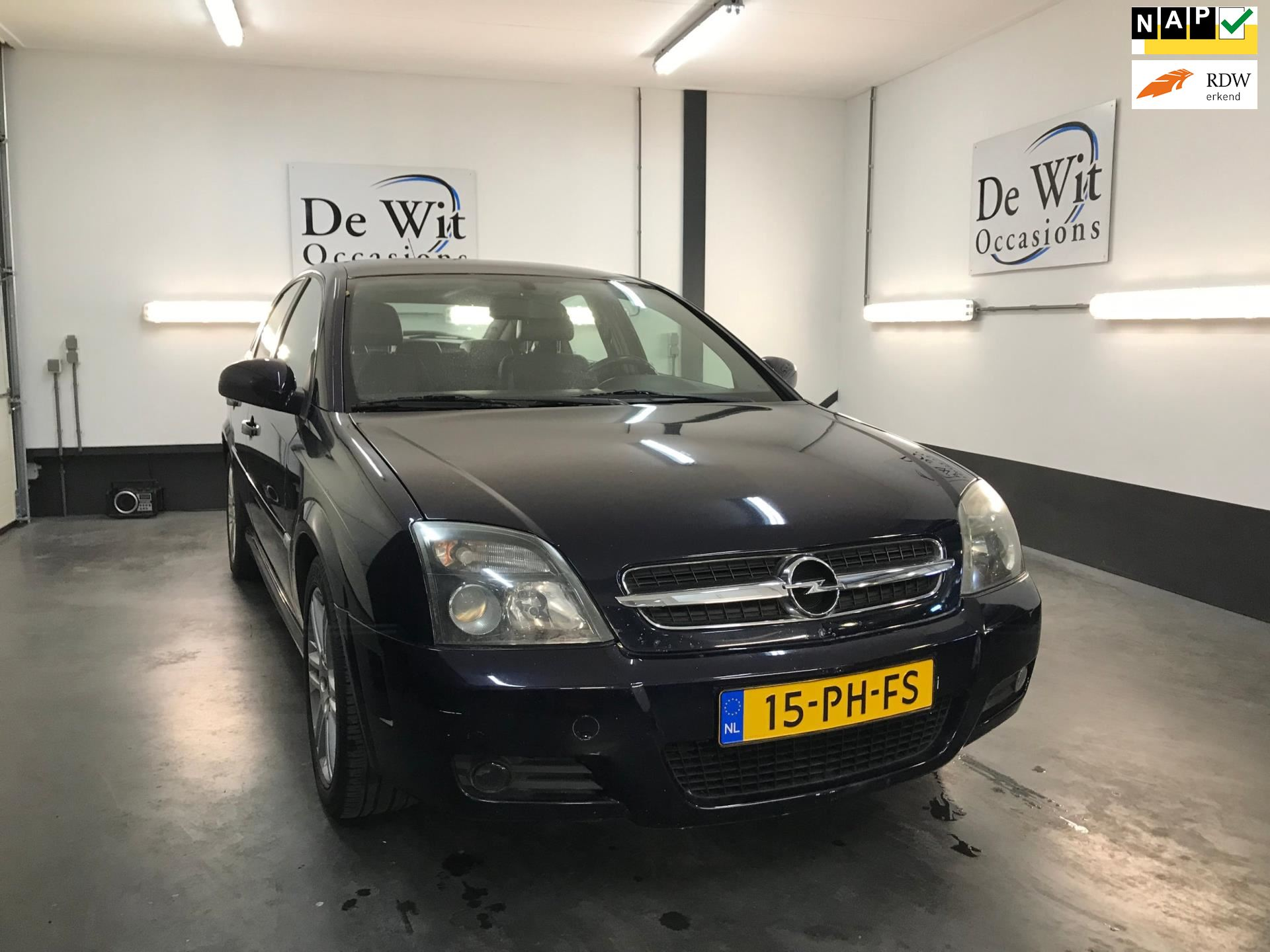 Opel Vectra GTS occasion - De Wit Occasions