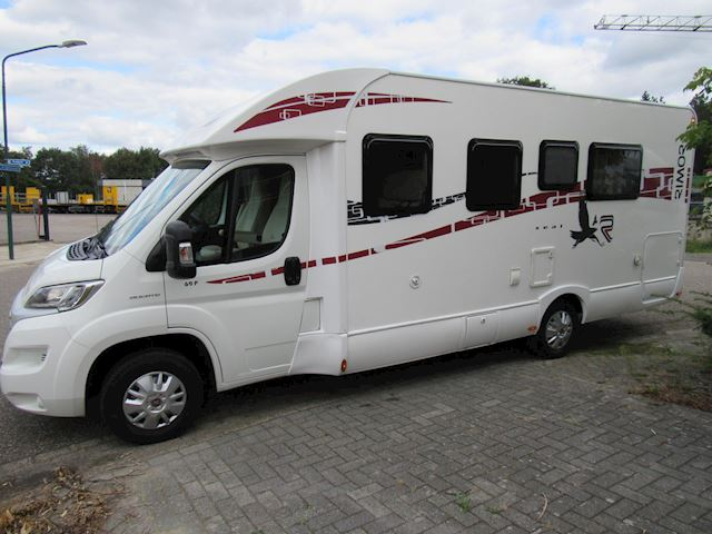 Rimor 69L Half integraal Queensbed bj 2016 Full option