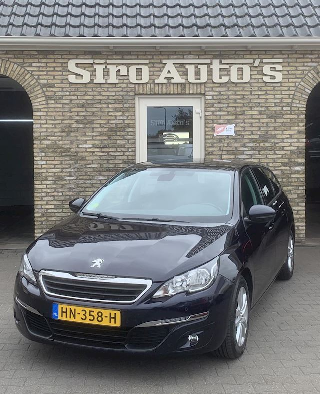 Peugeot 308 SW 1.6 BlueHDI Blue Lease Executive Pack Bj 2015 Panorama dak Navigatie Achteruitrijcamera