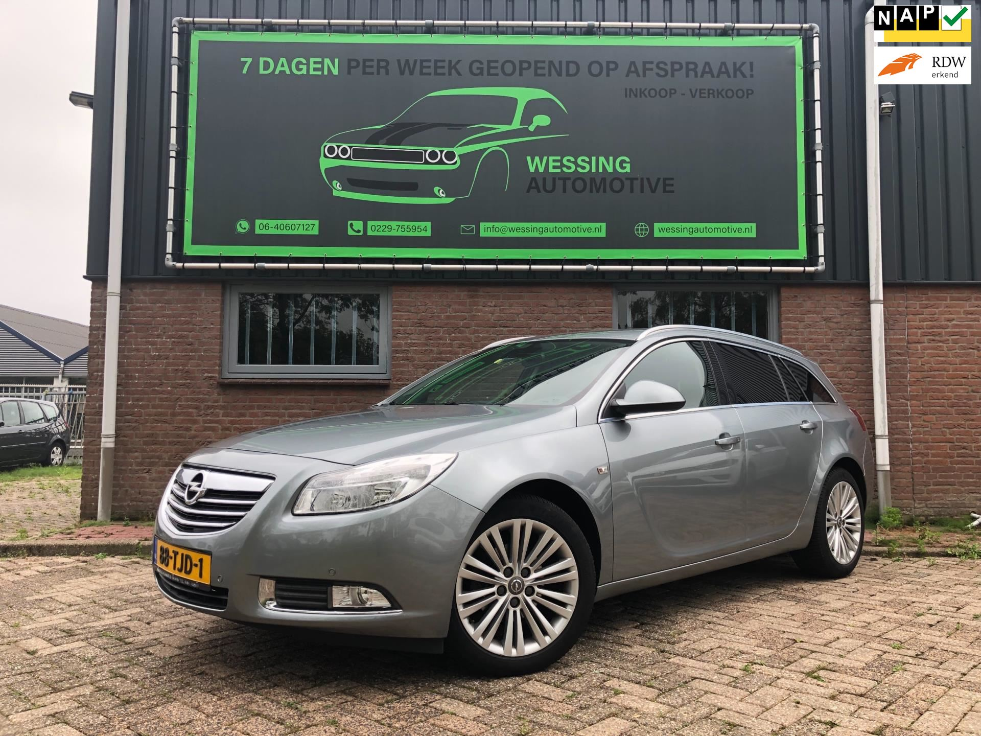 Opel Insignia Sports Tourer occasion - Wessing Automotive