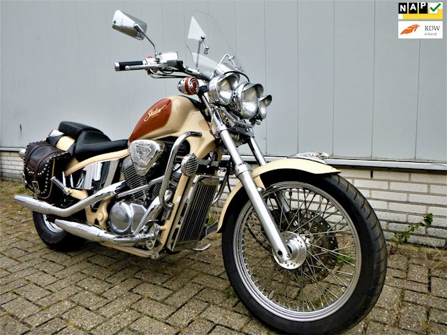 Honda Chopper VT 600C Shadow 1993 ALLE OPTIES FONKELNIEUW