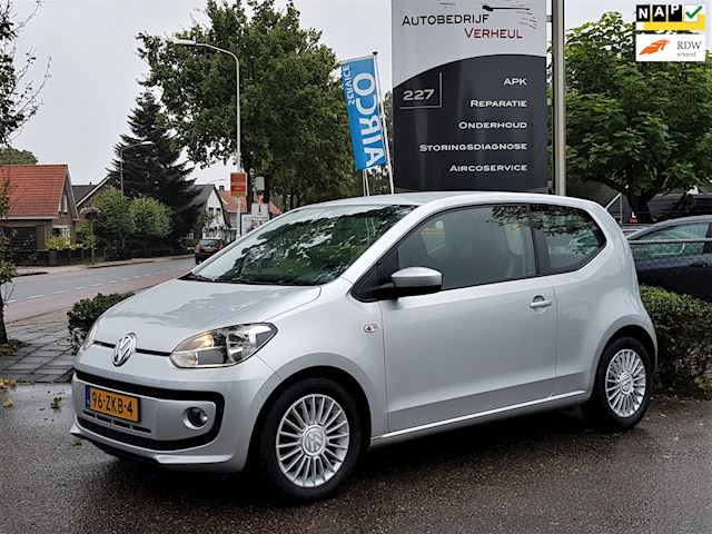 Volkswagen Up! 1.0 high up! BlueMotion Navi Airco Boekjes Nap