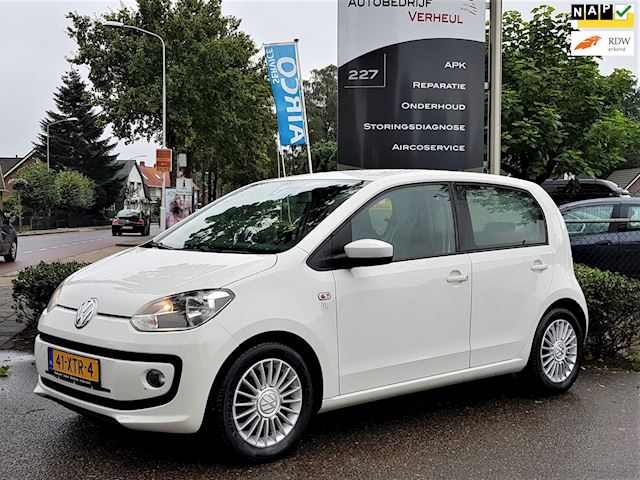 Volkswagen Up! 1.0 high up! BlueMotion 5 Drs Navi Airco Boekjes Nap