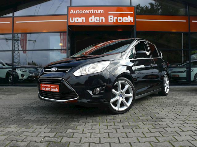 "Ford C-Max 1.6 Titanium 150PK Climate Cruise Ctr Stoelverwarming Keyless Go Pdc Achter 18"" Chroom Pakket"
