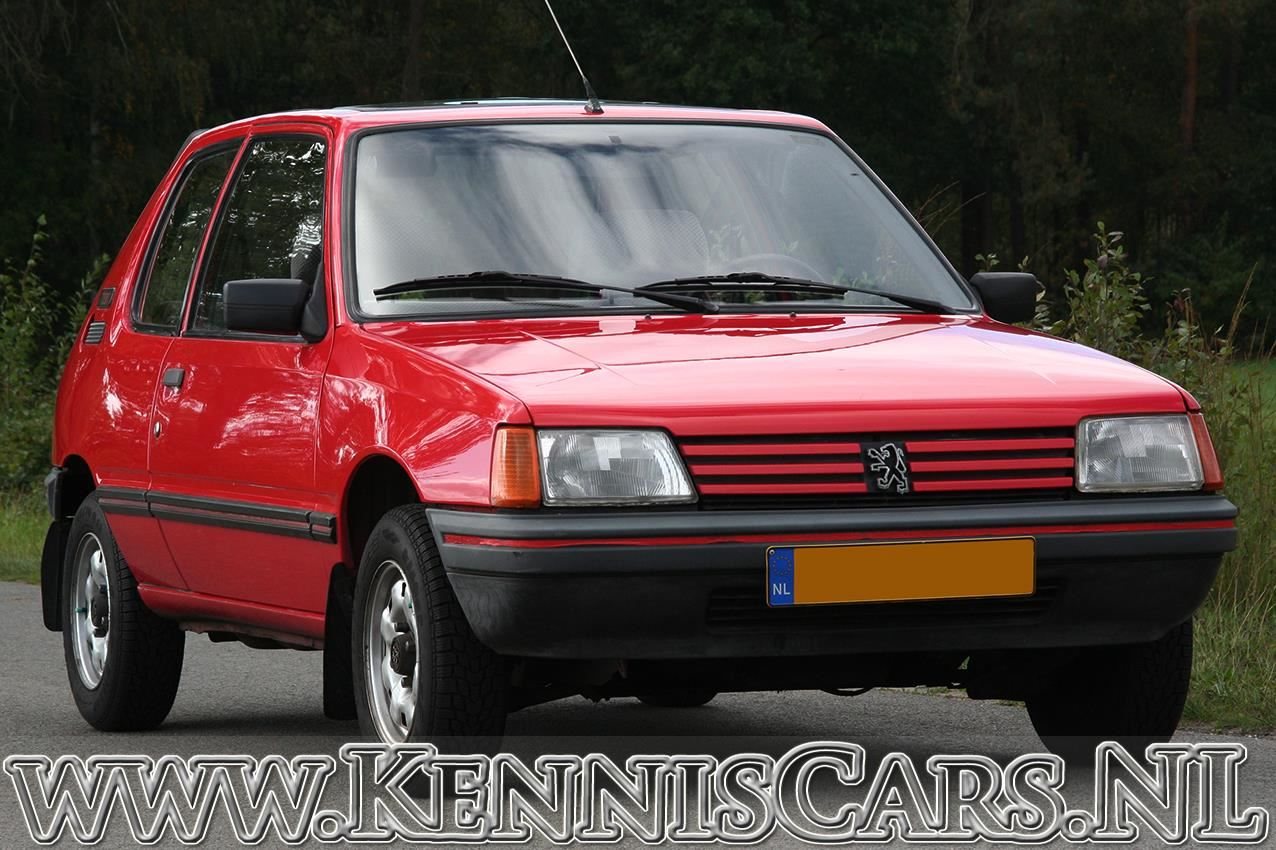 Peugeot 1986 205 Accent 3-door occasion - KennisCars.nl