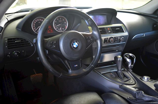 BMW 6-serie 630i High Executive M6 Bi-xenon Navi Memory