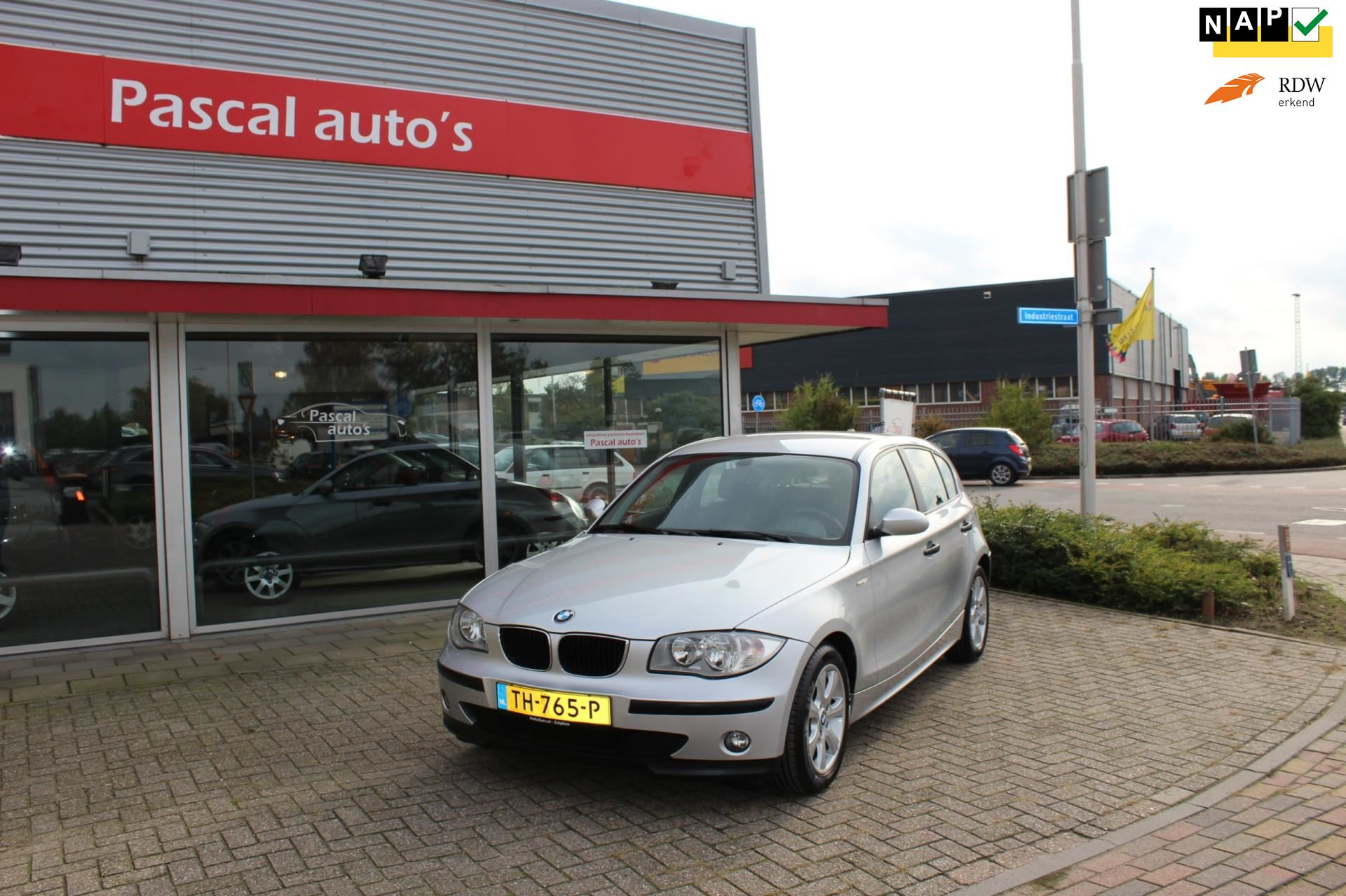 BMW 1-serie occasion - Pascal Auto's