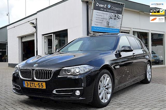 BMW 5-serie Touring 520i High Executive panodak,head-up,comfortstoel,FACELIFT!