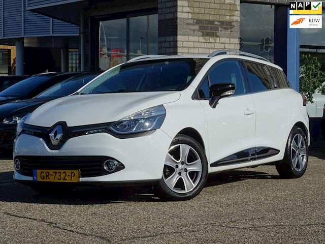 Renault Clio Estate 1.5 dCi ECO Night&Day FULL MAP NAVI AC LMV PDC CRUISE-CONTROLE MULTI-STUUR CHROOM