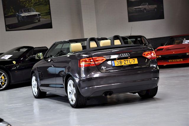 Audi A3 Cabriolet 1.8 TFSI Attraction Pro Line Business Leer Automaat Led Dealer onderhouden