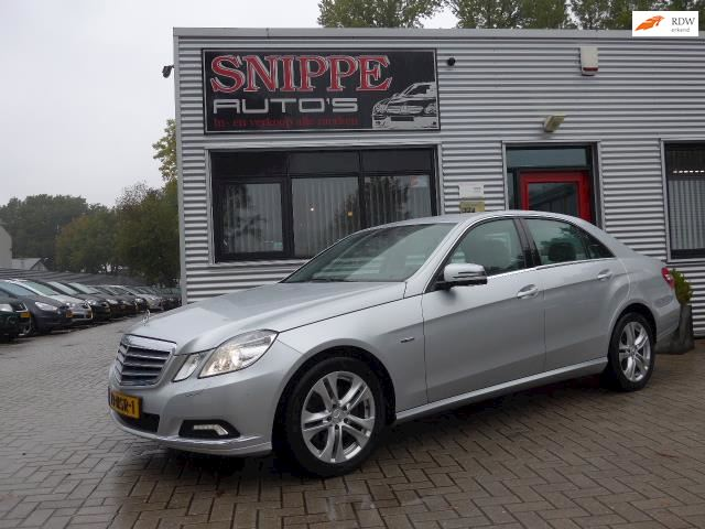 Mercedes-Benz E-klasse 250 CDI Business Class Elegance -VOLLEDER-XENON-LED-NAVI-DEALER ONDERHOUDEN-
