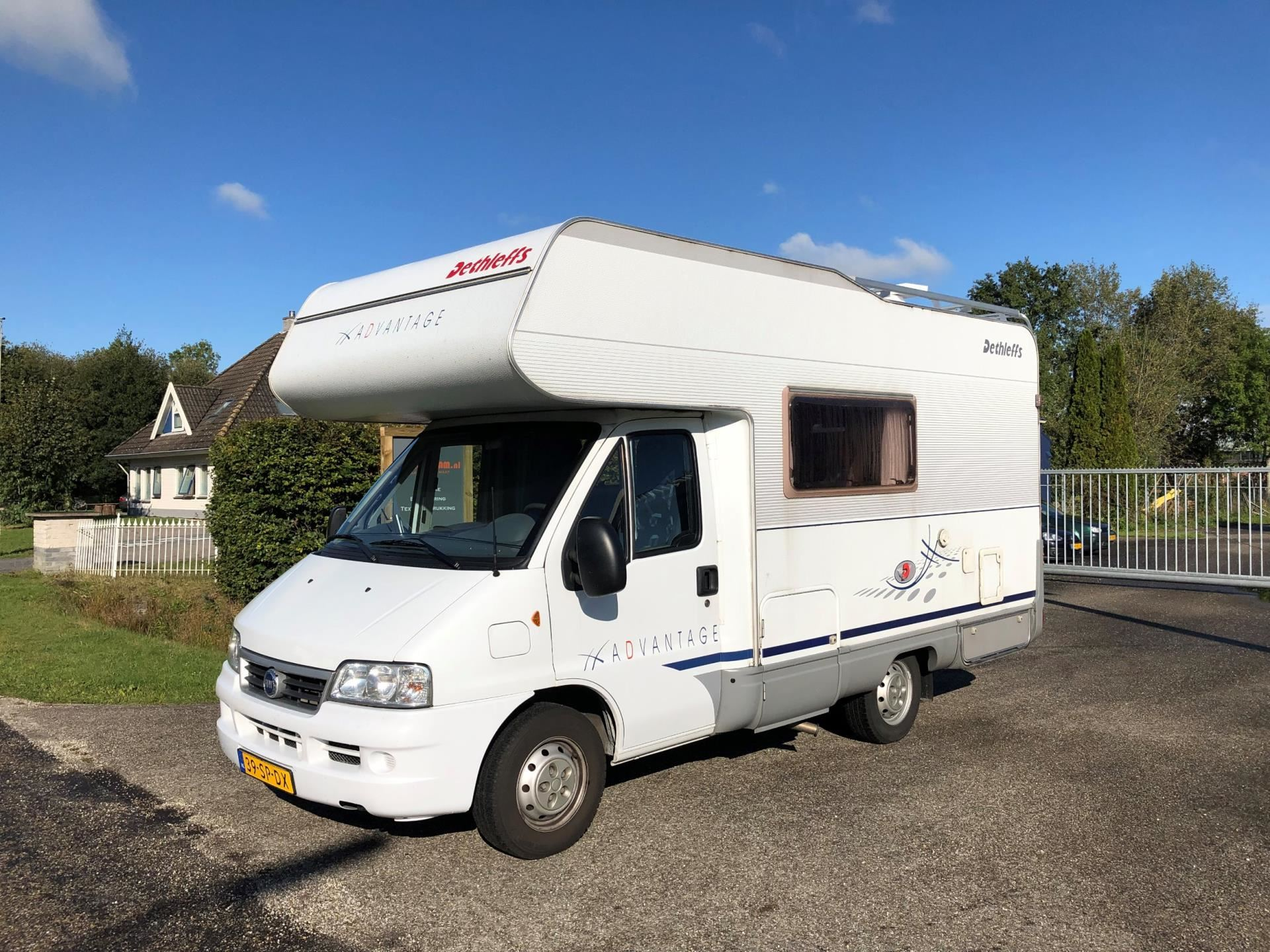 Dethleffs Globetrotter A 5431 occasion - Auto Eelde