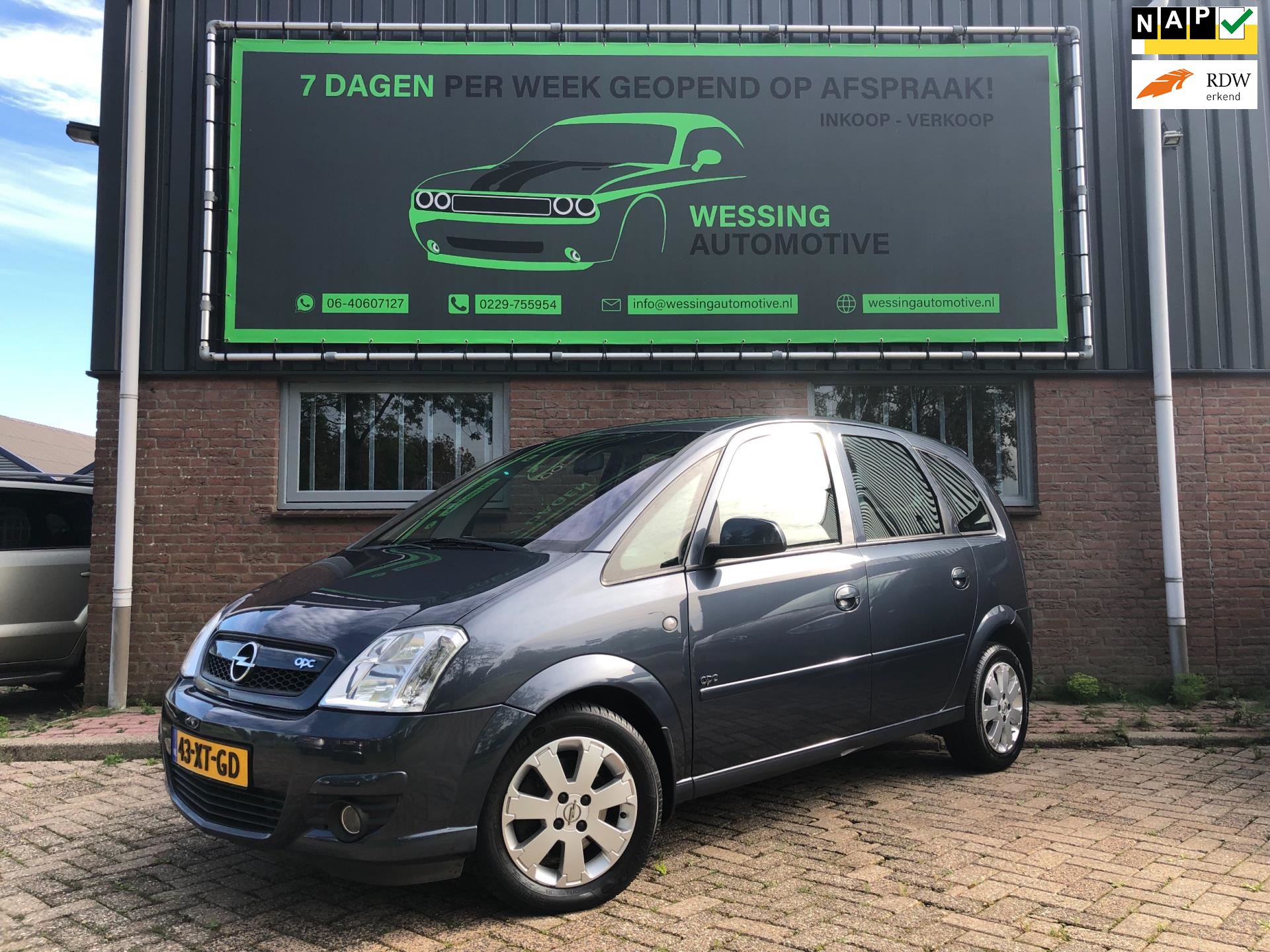Opel Meriva occasion - Wessing Automotive