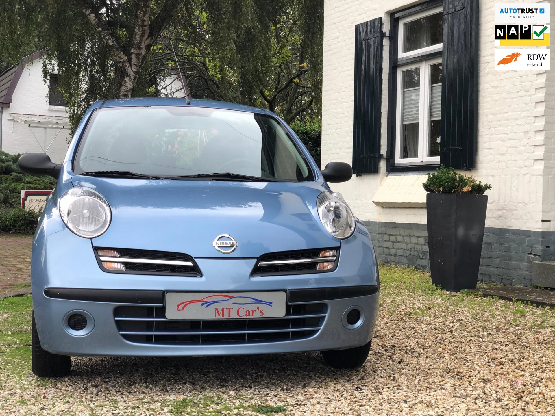 Nissan Micra occasion - M.T.  Car's & Carcleaningcenter