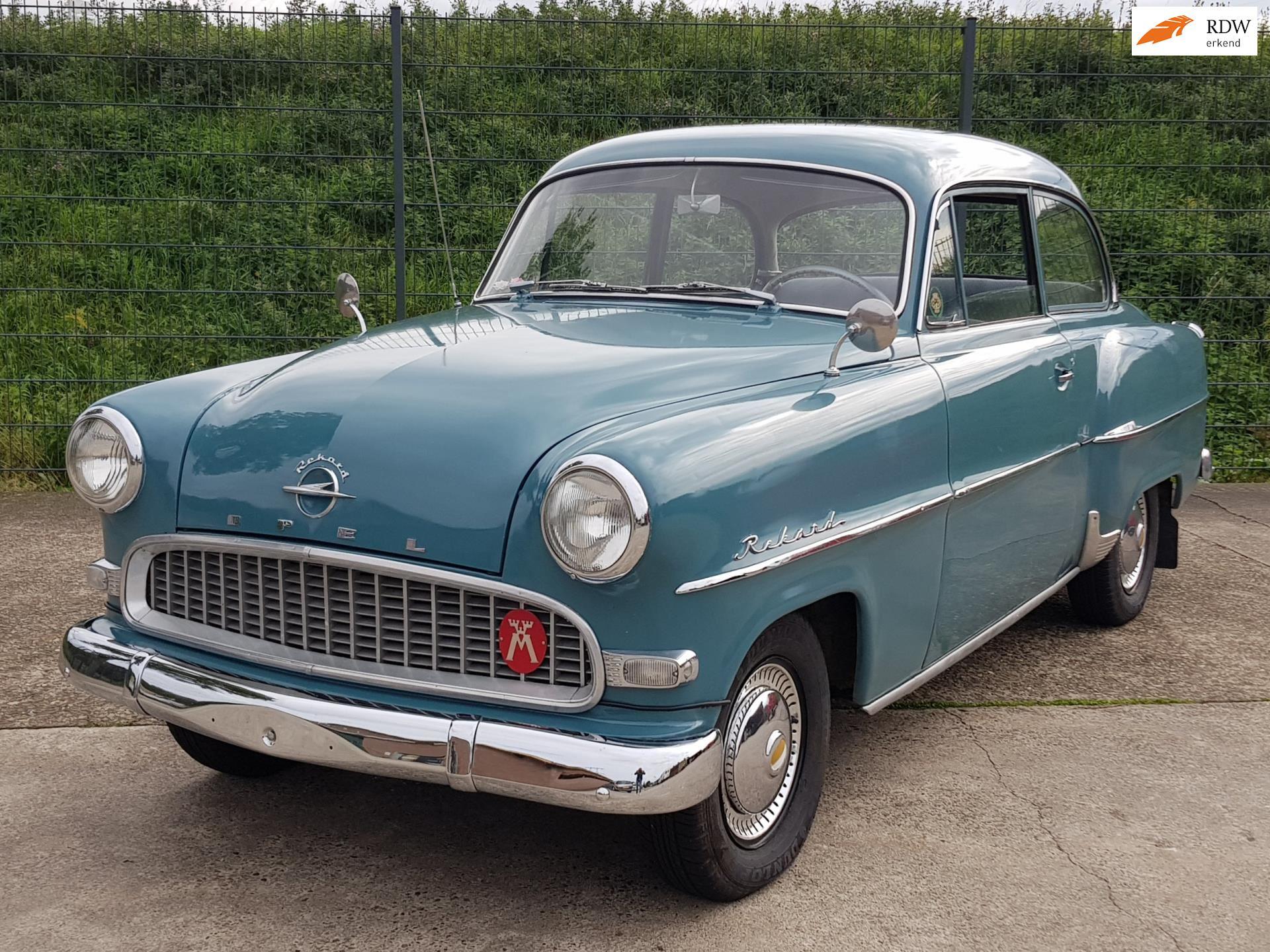 Opel Rekord occasion - Van Krieken Auto's