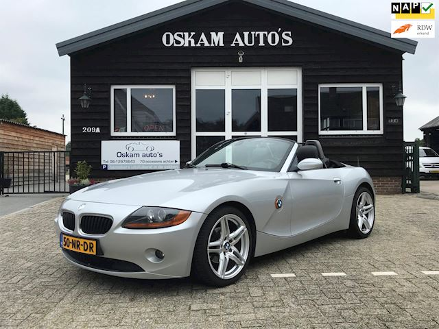 BMW Z4 Roadster 2.2i S Automaat NL-auto youngtimer