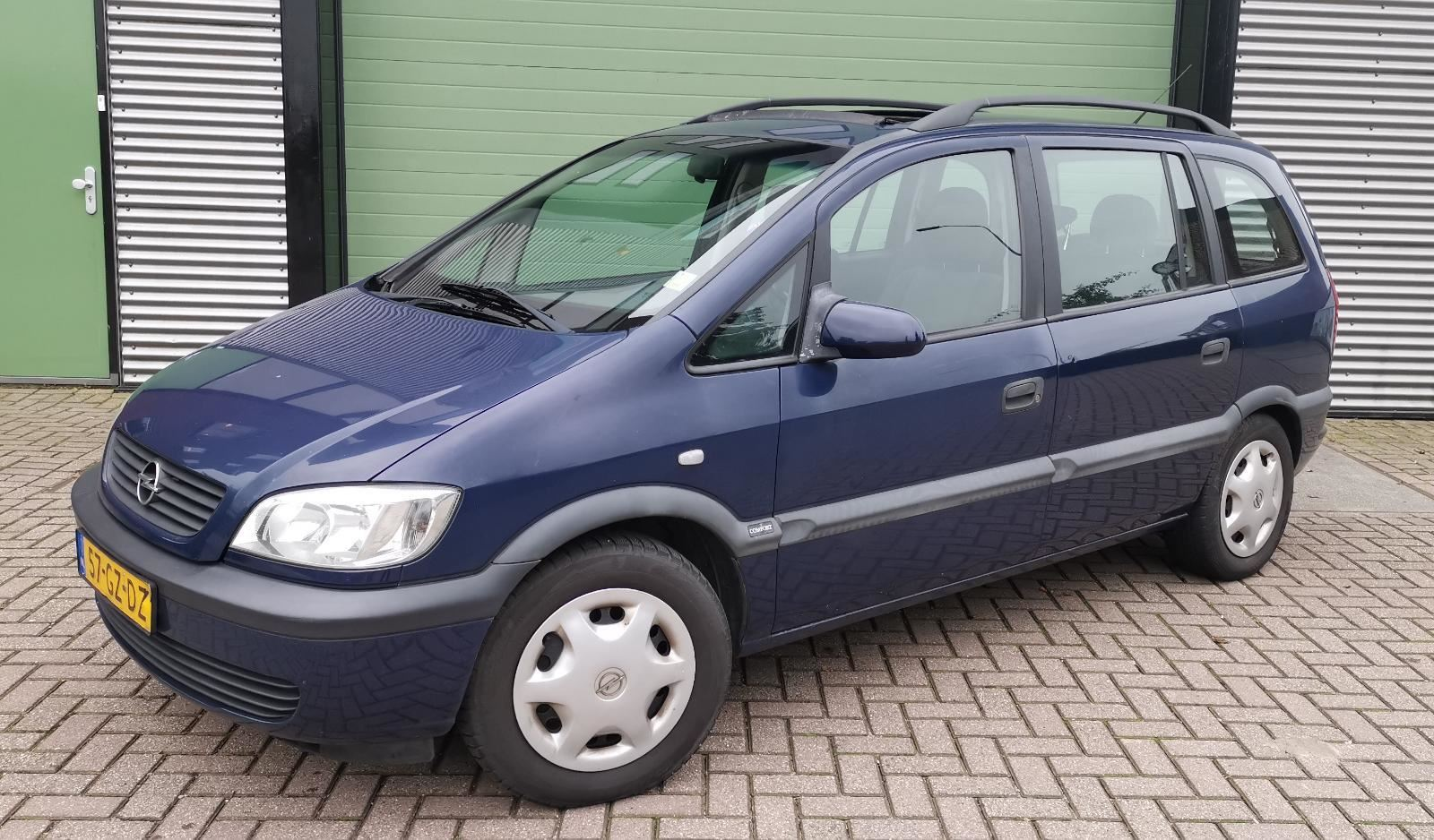 Opel Zafira occasion - Car Trade Nass