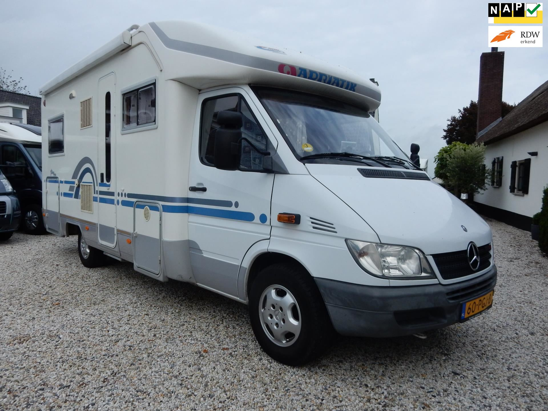 Adria CORAL STARGO Mercedes occasion - Campers Kerkdriel