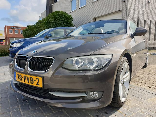 BMW 3-serie Cabrio 320i High Executive Automaat Leder Navi Xenon Facelift Nieuwstaat