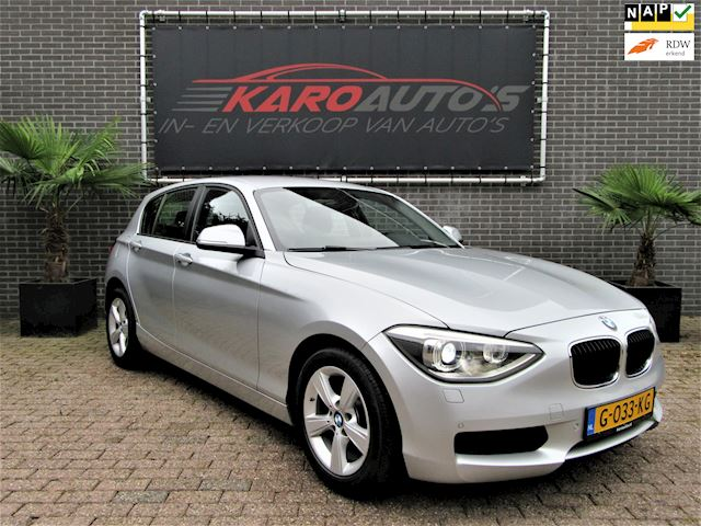 BMW 1-serie 116i Business 5D Xenon Led Navi Cruise Clima Pdc