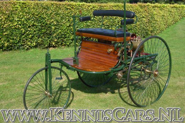 Mercedes-Benz 1885 Benz patent motorwagen occasion - KennisCars.nl