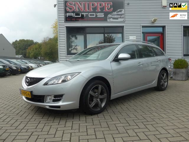 Mazda 6 Sportbreak 2.0 S-VT Business Plus -CLIMA-NAVI-PDC-TREKHAAK-NETTE AUTO-