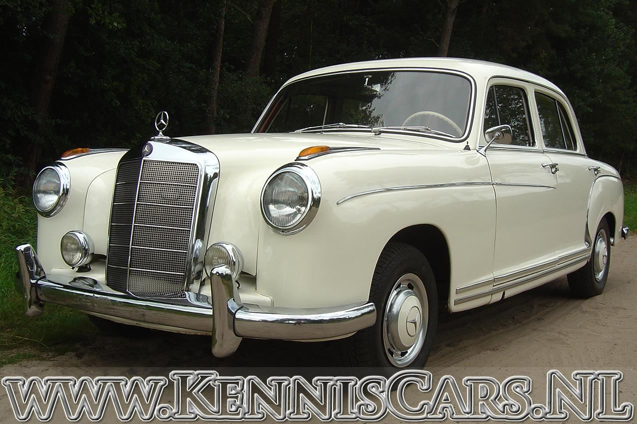 Mercedes-Benz 1959 220 S Ponton occasion - KennisCars.nl