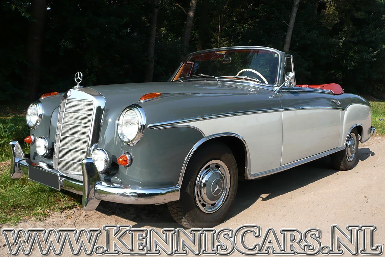 Mercedes-Benz 1959 220 S occasion - KennisCars.nl