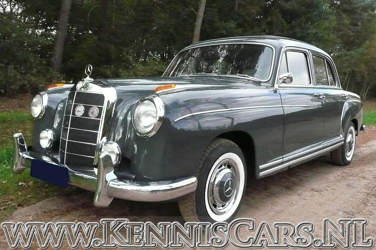 Mercedes-Benz 1959  220 S  Ponton occasion - KennisCars.nl