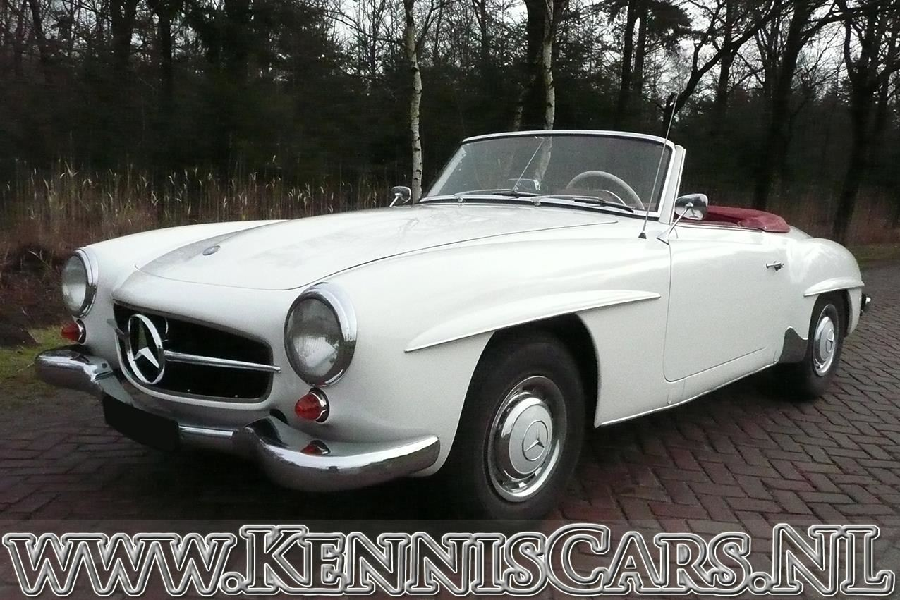 Mercedes-Benz 1961  190 SL occasion - KennisCars.nl