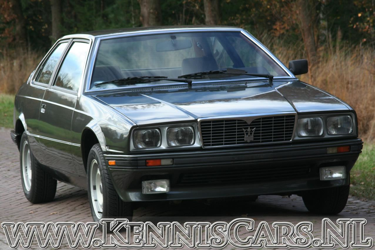 Maserati 1984 Biturbo 331 occasion - KennisCars.nl
