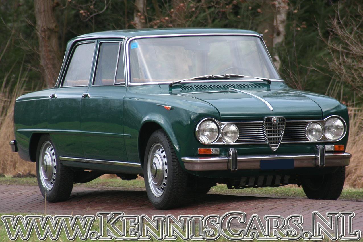 Alfa Romeo 1966  Giulia 1600 Super occasion - KennisCars.nl