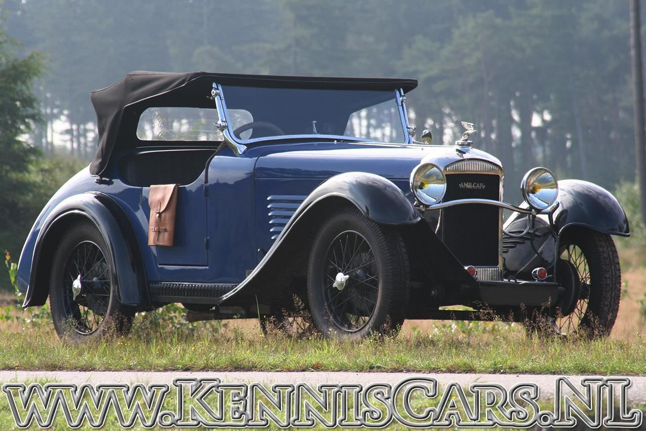 Amilcar 1934  M3 Roadster occasion - KennisCars.nl