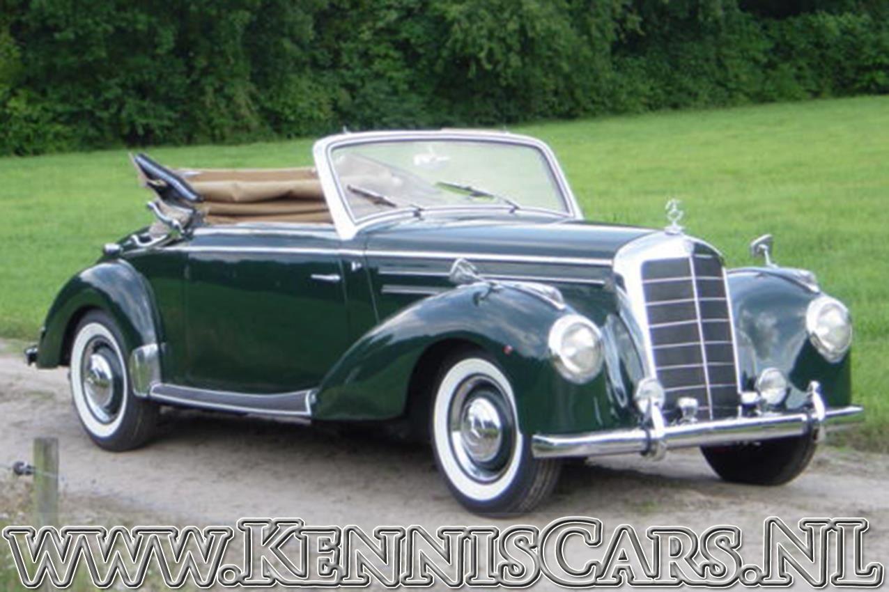 Mercedes-Benz 1952  220 A occasion - KennisCars.nl